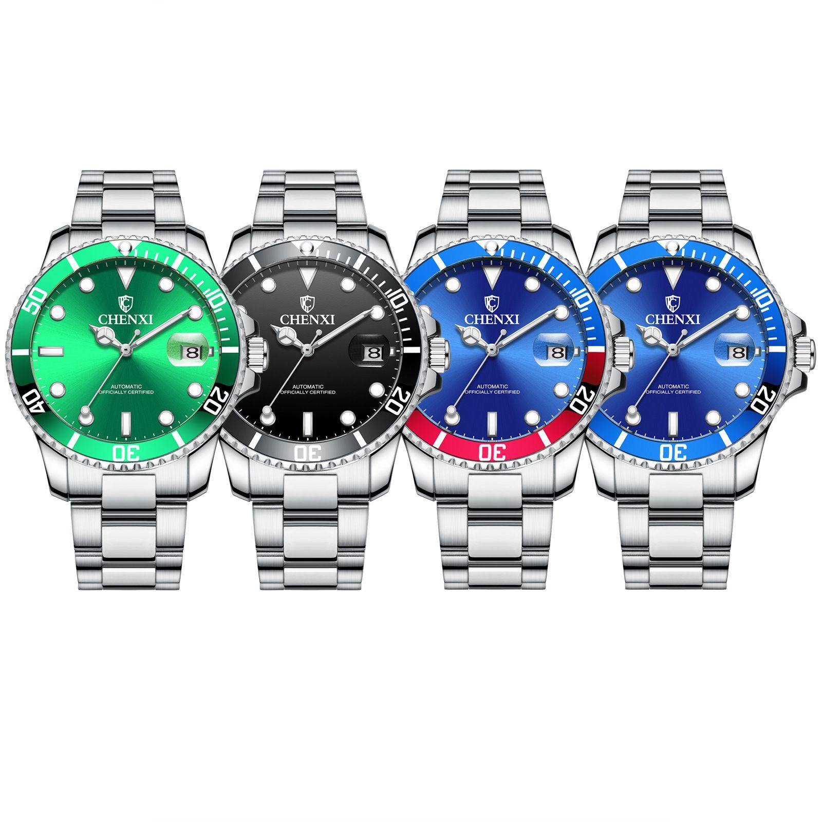 Green Water Ghost-mechanische Armbanduhr Dämmerung Markemens-Geschäfts-Uhr-8805a Spot-Großhandel automatische analoge Uhr