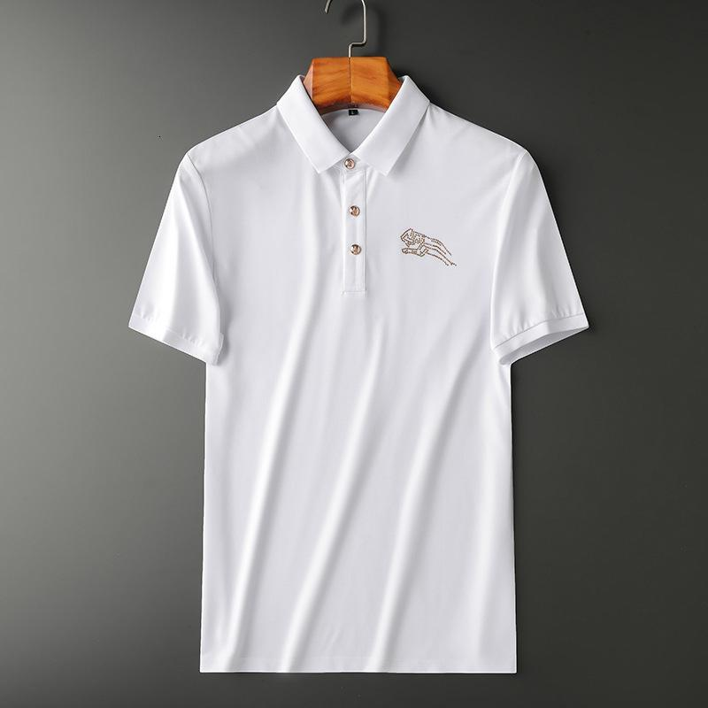 kısa kollu yaz moda tişört rahat rahat yuvarlak boyun tişört moda giyim VA4W 2020 yüksek kaliteli erkek