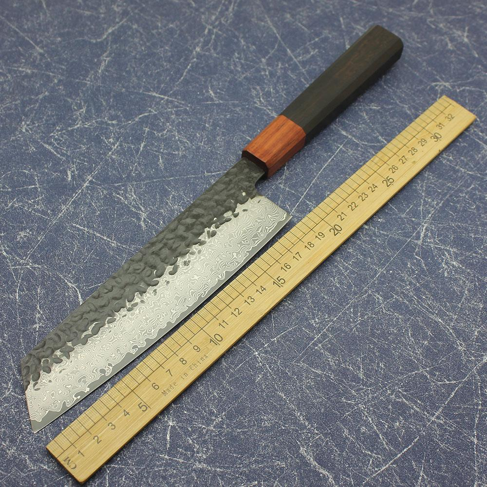 """""""Lama del cuoco unico fatto a mano da 10 pollici VG10 Damasco acciaio forgiato coltello da cucina professionale strumento per affettare coltello da cucina cucina"""