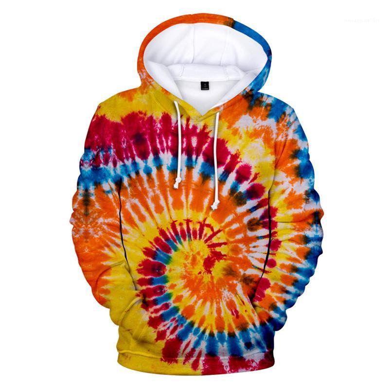 Tamaño con capucha para hombre del diseñador jersey sudadera de manga larga Hoddies Homme ropa de moda de longitud regular ropa ocasional del lazo teñido Plus