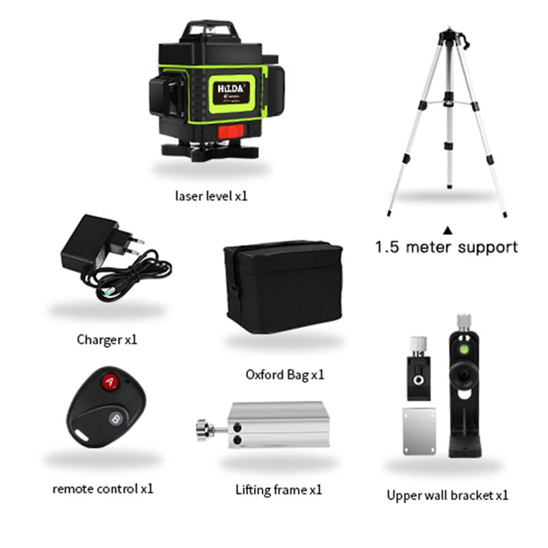 2021 2020 Hot Sell 16 Lines 4d Laser Level Level Self Leveling 360 Horizontal And Vertical Cross Super Powerful Green Laser Level From Mofiabright 202 34 Dhgate Com