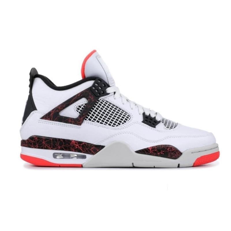 Salpicadura de CEMENTOS Pale Zapatos NRG BLANCO Citron 4s fuego para hombre de baloncesto rojo solo día TATUAJE la zapatilla de deporte Negro SE láser 4 Formadores
