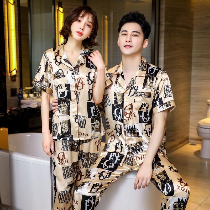 Shorts été Jumpsuit femmes Pyjama 2020 Sexy col V profond imprimé numérique Bouton manches courtes Tight # 294 Cy6037 Bodysuit