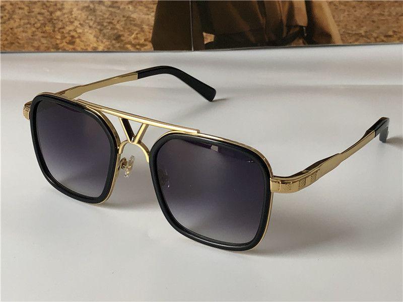 أحدث بيع النظارات الشمسية تصميم الأزياء الشعبية 0947 لوحة مربع إطار أعلى جودة عدسة مكافحة UV400 مع مربع