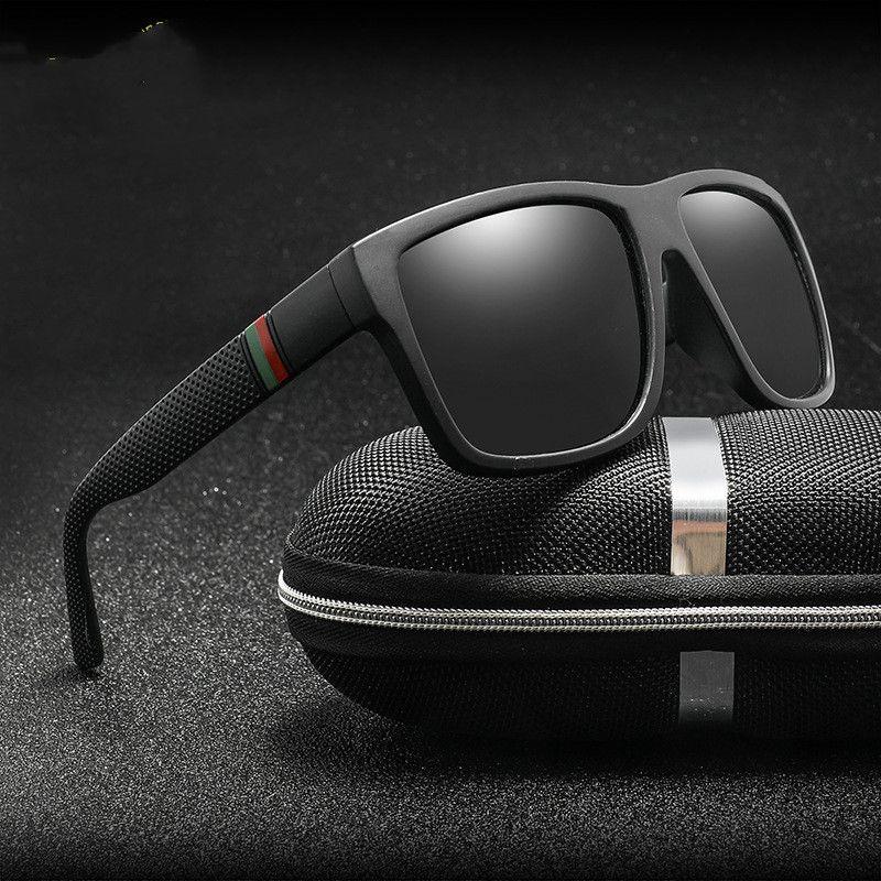 Marca Vintage Lentes Polarizados Oculos Plaza Conducción Hombres para hombre M199 Sun Hombres Sombras Diseño Gafas de sol Gafas Retro CNGDR RVLPC