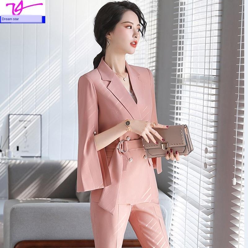 xtTBa for women wear new elegant formal suit age-reducing wear business 2020 professional Suit women's skirt fashion