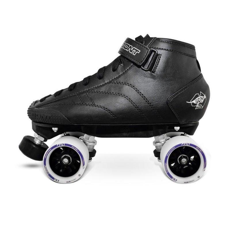 Rodillo original Bont Prostar doble patines Heatmouldable Glassfiber arranque Base 4 Ruedas Patines de patinaje Zapatos T3