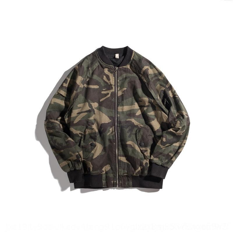 XOZO3 verano flojo básico del otoño de los hombres de la moda de New South MA-1 chaqueta de camuflaje chaqueta de los hombres
