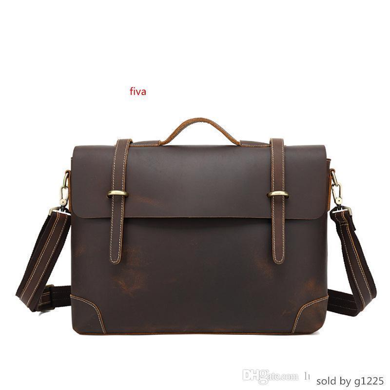 Evrak çantası Erkek ler Çanta Mischpalette Sırt Çantası Daha Cep Üst Kalite Çanta Tasarımcı Taşınabilir Gerçek Deri Seyahat Çantaları Çanta