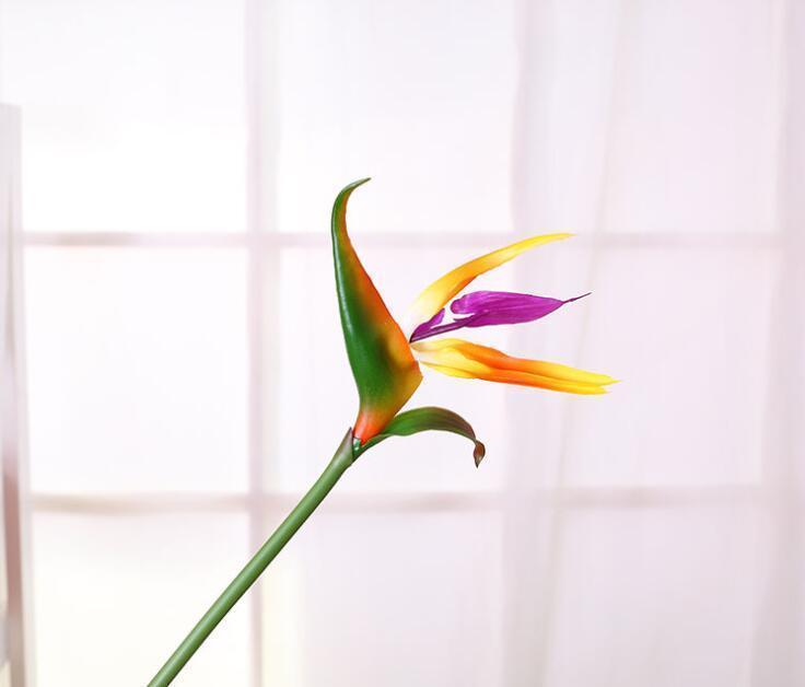 Fleurs artificielles mariée Faux de décor décoratif artificiel Flower Paradise Garden Party oiseaux maison en plastique mariage homeindustry BWYhr