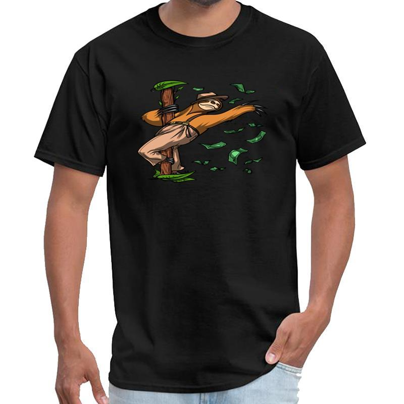 Individuell gestaltete Funny Sloth Pole-Tanzen-Partei Saison 6 T-Shirt Frauen rick T-Shirt s-5xl Tee oben