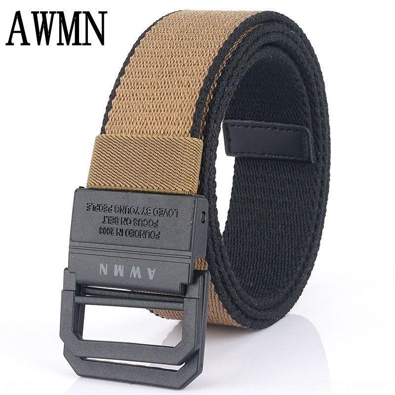 lona novo ocasional lona de nylon cinto 2020 livre de metal sobre-Security cinturão dos leves dos homens da correia Ncgsf
