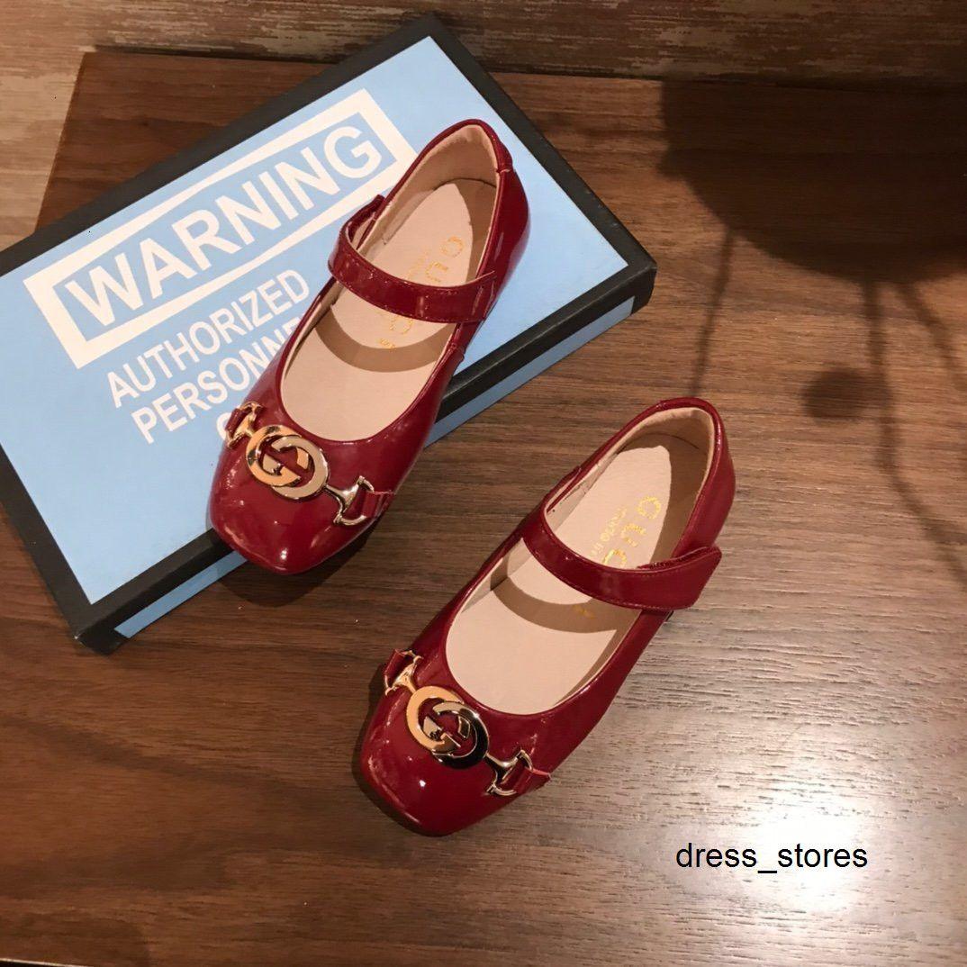 Zapatos de la princesa del verano nuevas patrón de la manera ocasional de la muchacha niños