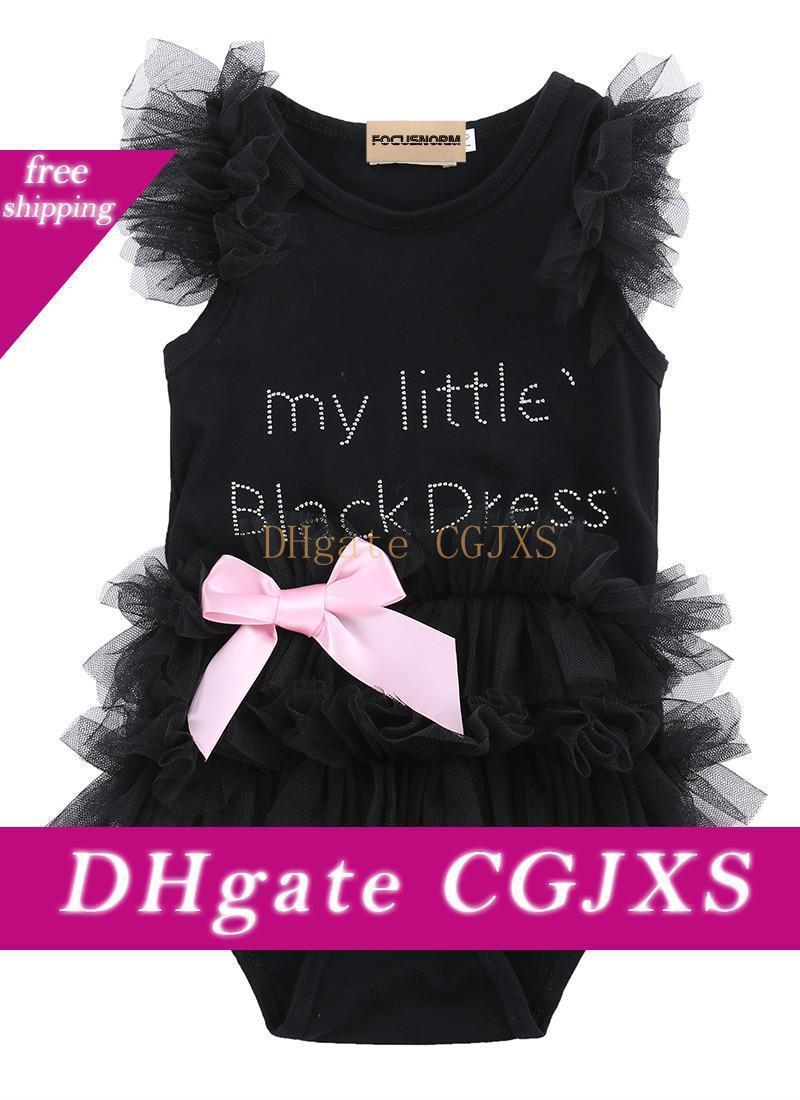 New Girl Suit bei vestiti infantili neonate vestiti delle increspature del merletto del pagliaccetto della tuta tuta Outfits
