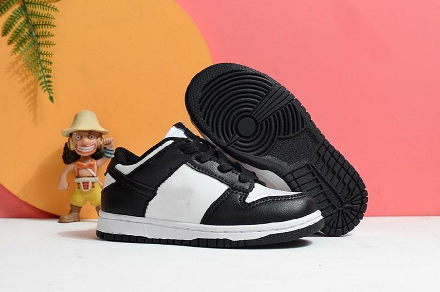 Chunky Chaussures de sport pour enfants Sb Dunks Dunky Université Rouge Faible Blanc Noir Orange Brésil Pulse Green Boys Pine et Filles Chaussures de course