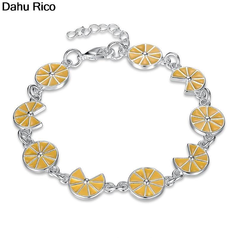 brazaletes de la pulsera BRACCIALI mujeres madres de los encantos del regalo del día dijes me besan Dubai estilo del producto superventas 2020 pulseras Dahu Rico