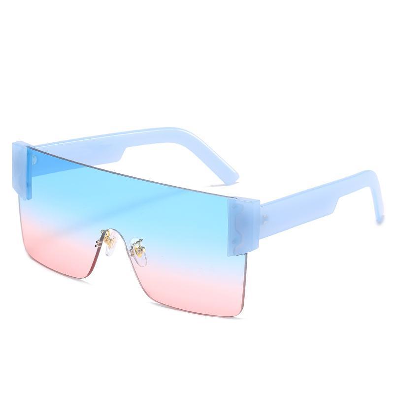 2020 diseñadores para mujer LUXTURY RIXTURY GAFELESSES DE SOL MODA OCÉANO PC PC Sin marco UV 400 Gafas Occhiali da Sole Firmati