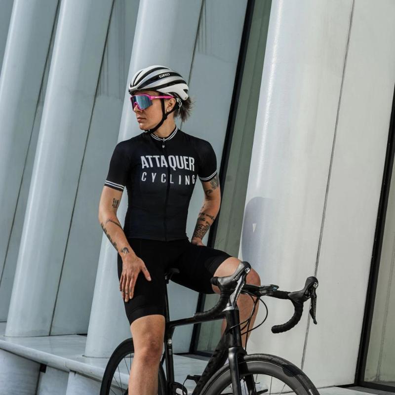 Attaquer maniche corte da ciclismo Jersey 2020 stylish camicie bicicletta traspirante velocità squadra corse abbigliamento ropa Ciclismo