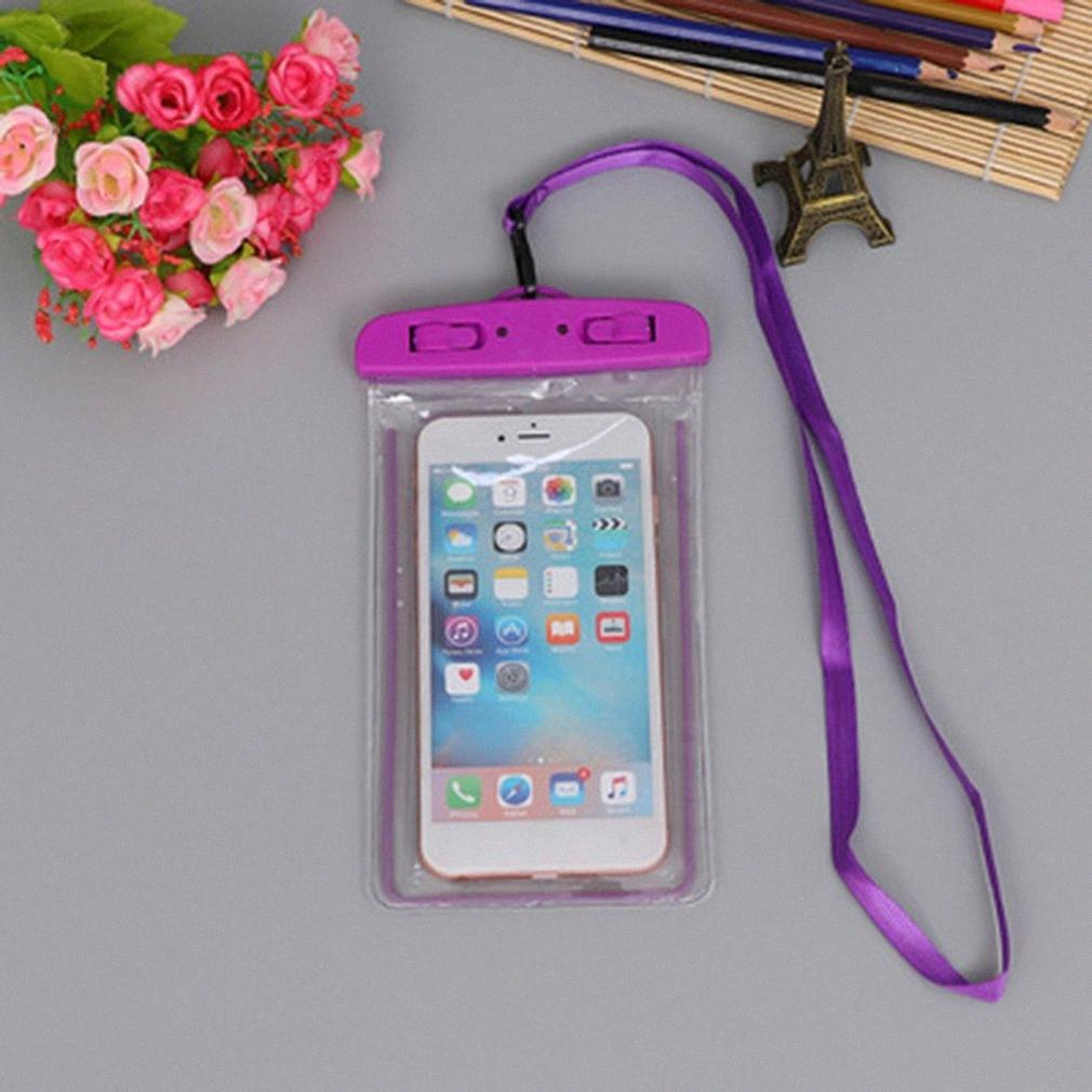 Waterproof natação PVC Bag Mobile Phone Case Capa seco Bolsa Universal Mergulho derivação riving Trekking Bolsas gVlM #