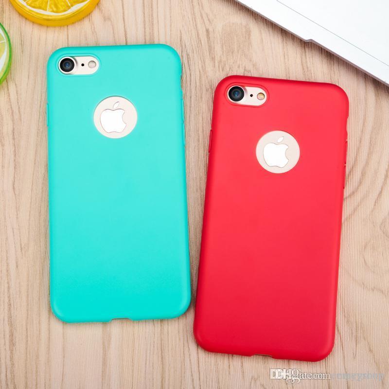 Chegada Nova iPhone Para o Caso xs xr max x 6 6s 8 7 Plus caso cores doces transparente macio TPU Silicon Phone Cases para iPhone 11 pro Max