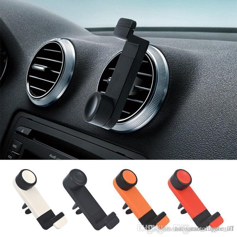 Portable Car Air Outlet Car GPS Navigation iPhone Air Vent Mount Bracket Adjustable Bracket Air Out For Mobile cell phone Mount holder
