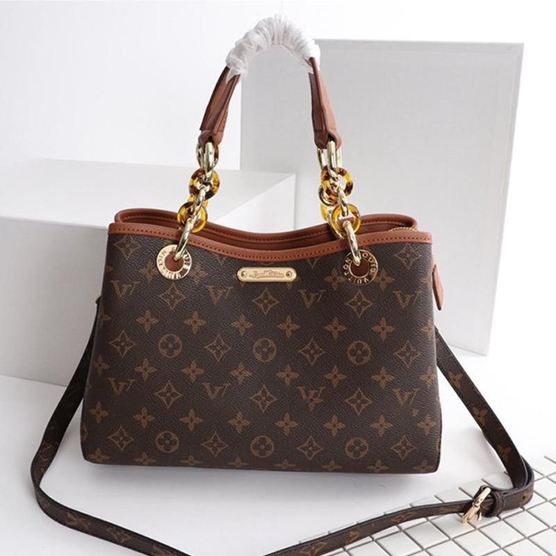 Bolso clásico de la manera de las mujeres bolsos de ocio de moda de Crossbody del color marrón del hombro del bolso bolsas de mano de gran capacidad Bolsas de mensajero Type2