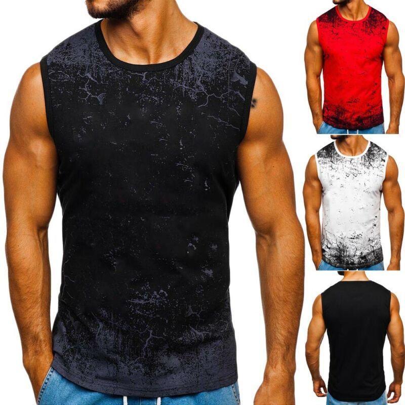 Abbigliamento MX200815 2020 senza maniche Slim estate degli uomini di marca Palestra Canotta Muscle Bodybuilding fitness Tee Shirt Sport carro armato degli uomini