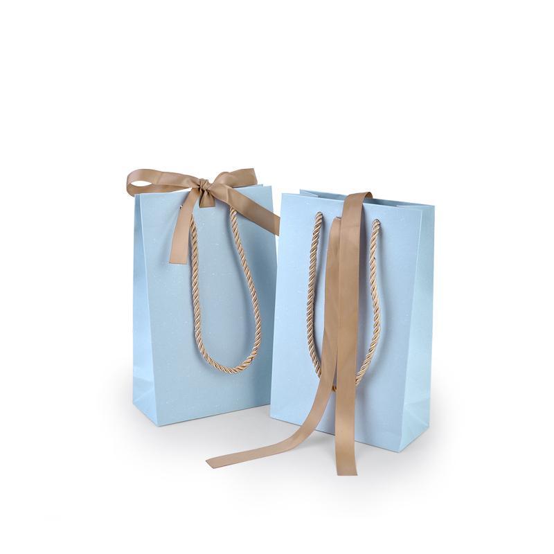 شعار مخصص رخيصة مطبوعة ورقة هدية حقيبة السفر حقيبة حقيبة التسوق