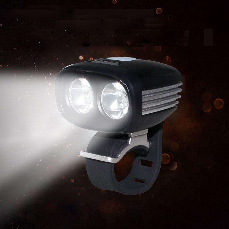 جبهة الدراجة العلوي 2 * U2 XML LED دراجات مصباح USB / كاتب واجهة الدراجات ضوء 5 طرق توفير الطاقة الشعلة لا البطارية