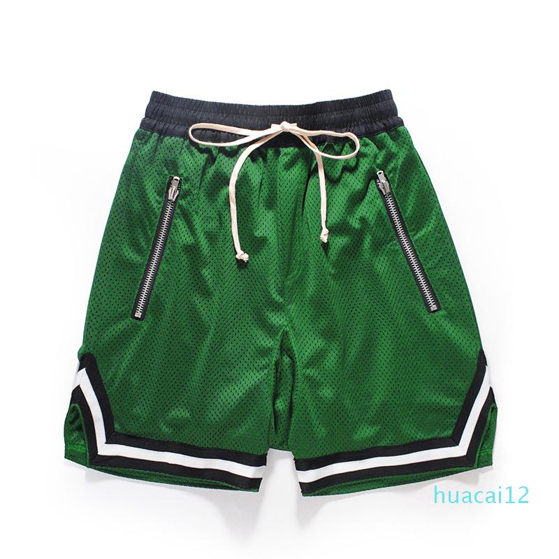 Hot Sale Men's Shorts Europe and America Tide Mens Summer New Breathable Shorts Casual Men Loose Drawstring Cross-Pants 6 Colors Size M-2XL