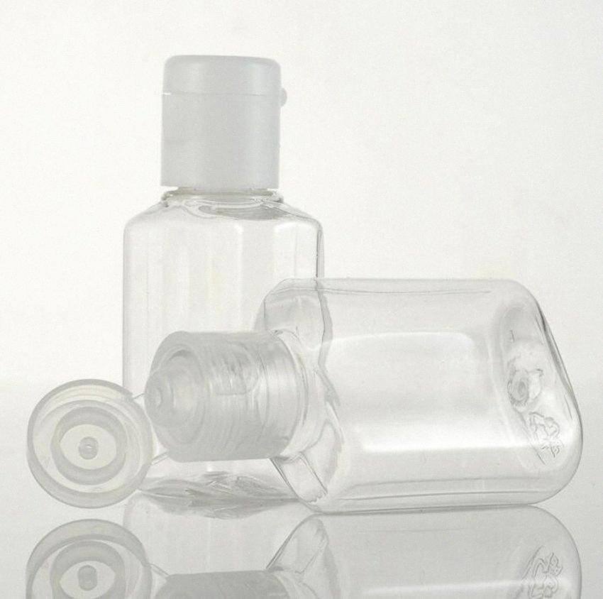 20ml plastik şişe Boş Plastik Numune Ayaklı Cap Şişe Sıvı Makyaj Konteyner seyahat sabun şişe KKA7757 xyhY #