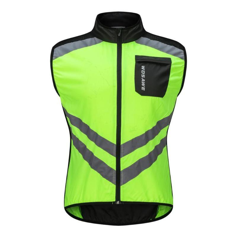 Sécurité Course à pied Cyclisme Course Vélo Équitation Route Gilet Vélo - coupe-vent imperméable et réfléchissant