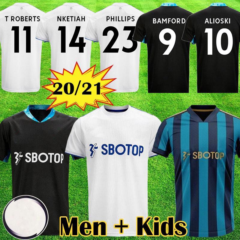 20 21 maglie da calcio Leeds United 2020 2021 COSTA Alioski Phillips BAMFORD CLARKE Men Kids Equipment maglia da calcio