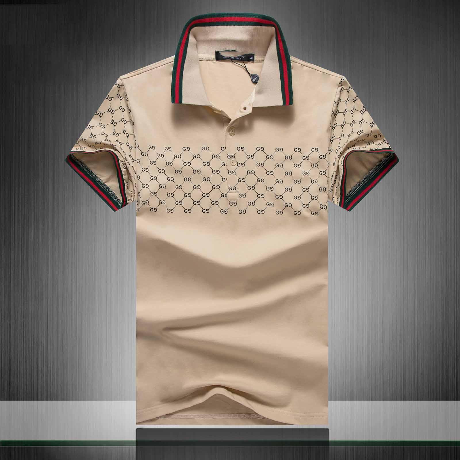 2020 estate di marca abbigliamento di lusso di marca Polo Uomo Casual Polo Moda Snake Bee Stampa ricamo maglietta High Street Mens Polo