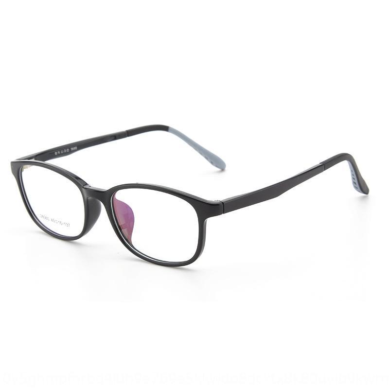 2020 nuovi studenti anti-blu miopia piatto TR90 occhiali giovanili telaio piatto miopia occhiali KY28060