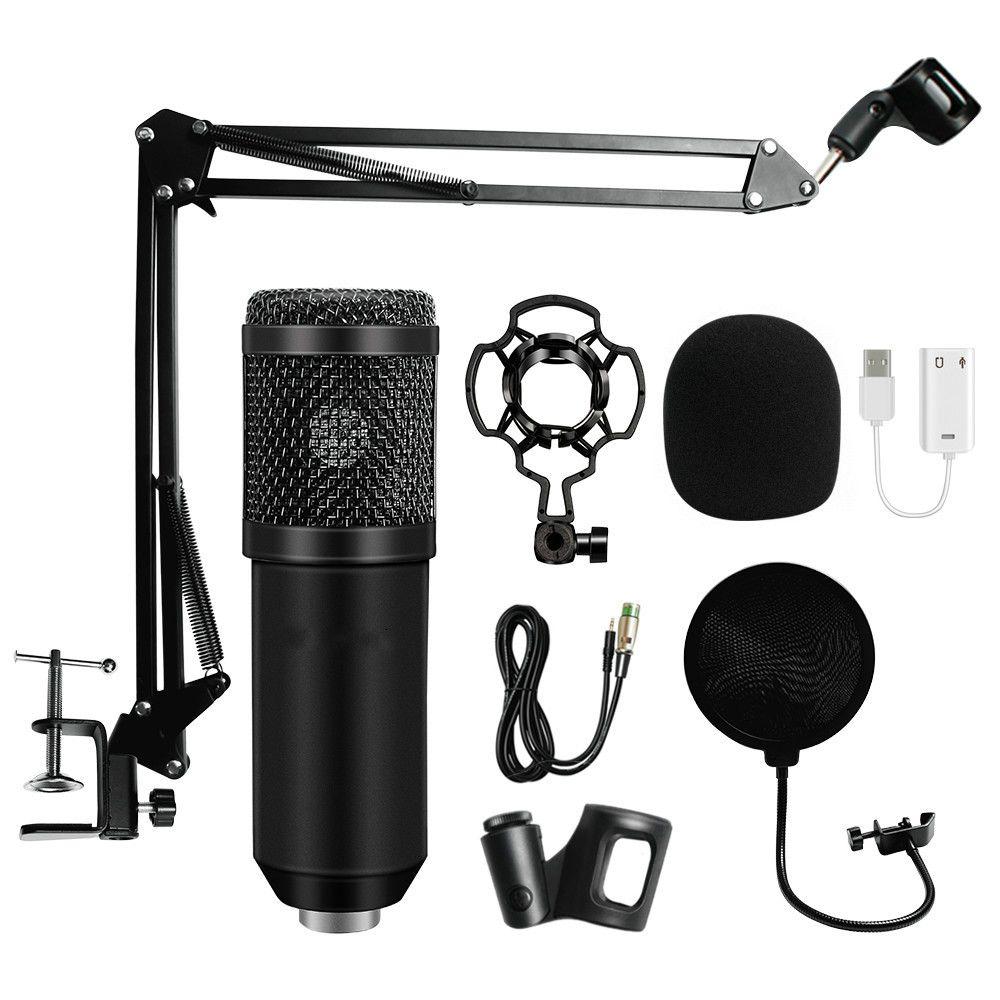 Microfono per microfono condensatore BM 800 condensatore professionale BM800 Karaoke BM800 per computer Karaoke KTV