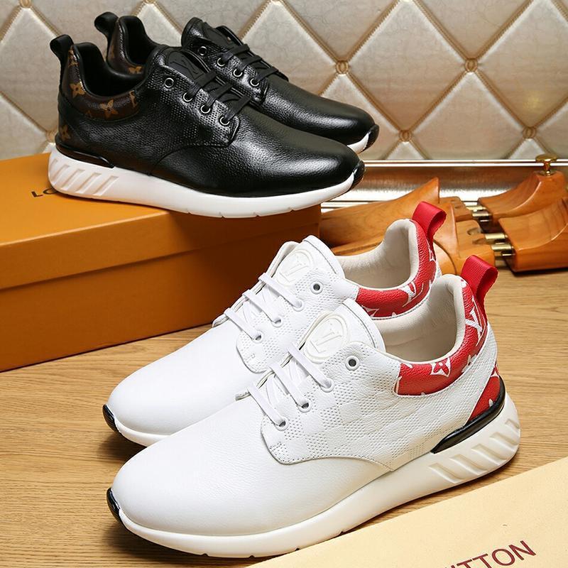 2021s Limited Edition Luxury Design Men '; S haute qualité Chaussures de sport imprimés, sauvage respirante hommes'; S Chaussures Casual, Men '; S Partie