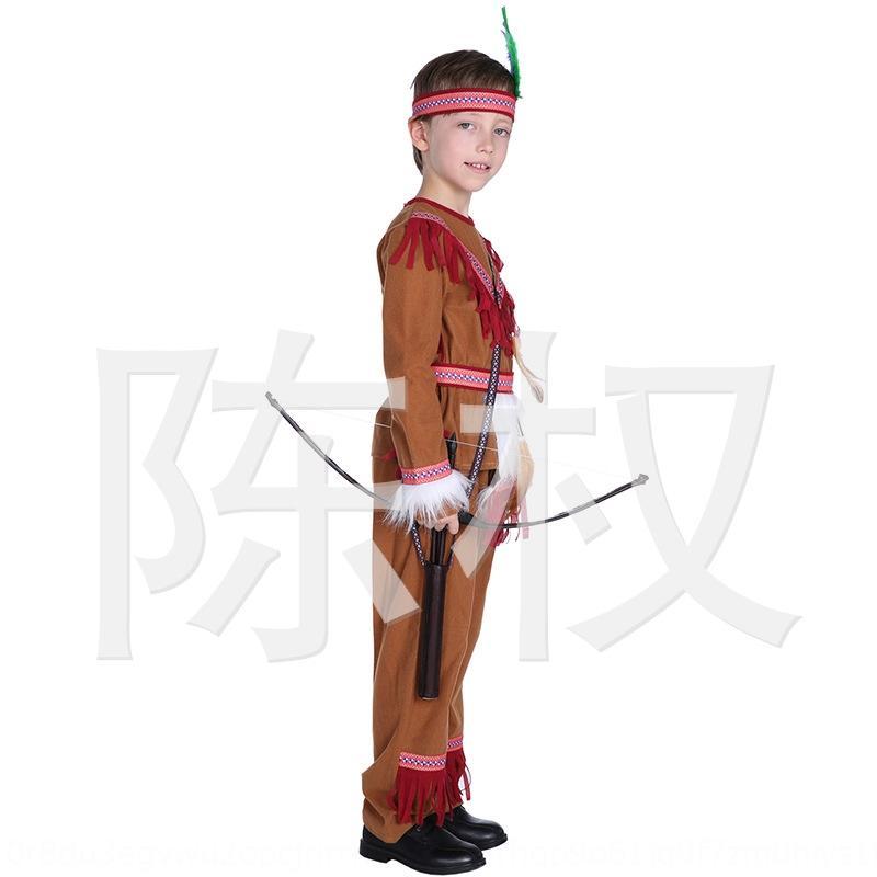 Pyink Halloween para niños para niños 0178 Mascarada Zifu Wang Ropa Ropa India Cos Hunter Ropa