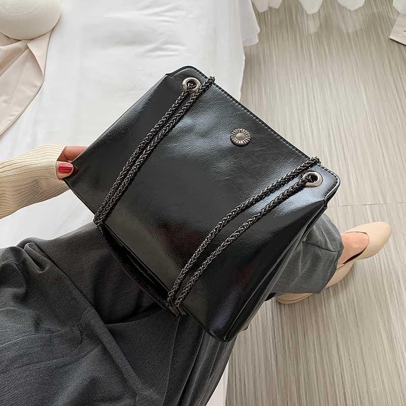 Yilian bolsa 2020 nuevo de la manera versátil bolsa axilas cadena de moda de gran capacidad de un hombro cruzada cuerpo