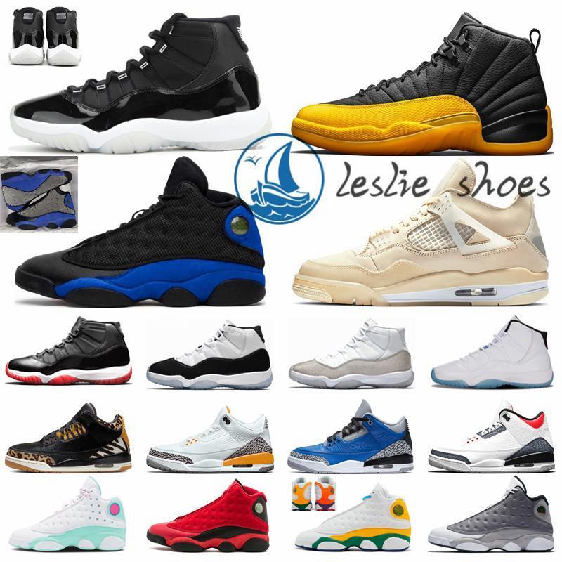 كرة السلة أحذية رجالي المدربين 5S البديل العنب 4S ضوء أكوا 12 ثانية جامعة 11 ثانية الذهب الظلام 13s فلينت أورورا 1 ثانية الرياضة أحذية رياضية