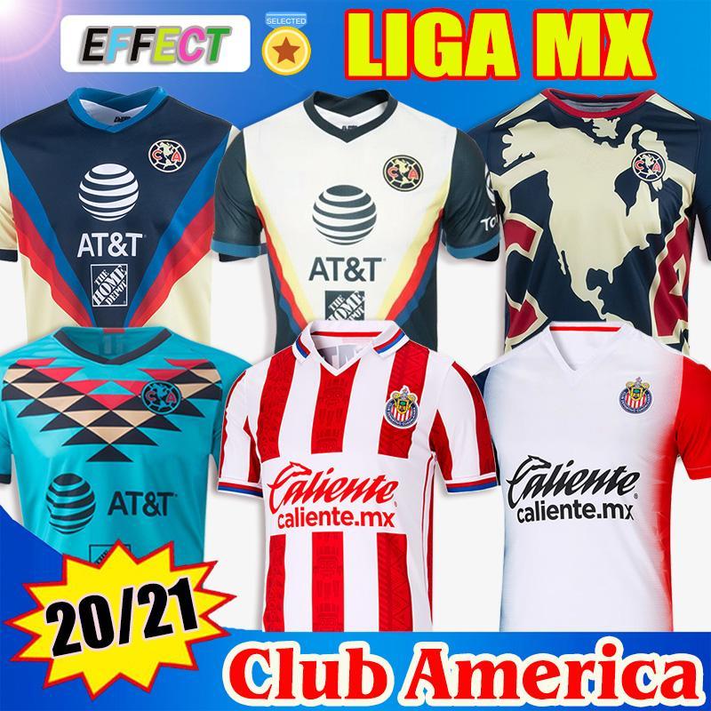 New 19 20 21 Club America Soccer Jerseys 2020 2021 Xolos de Tijuana Tigres UNAM Guadalajara Chivas Cruz Azul kit Jersey Football Shirts