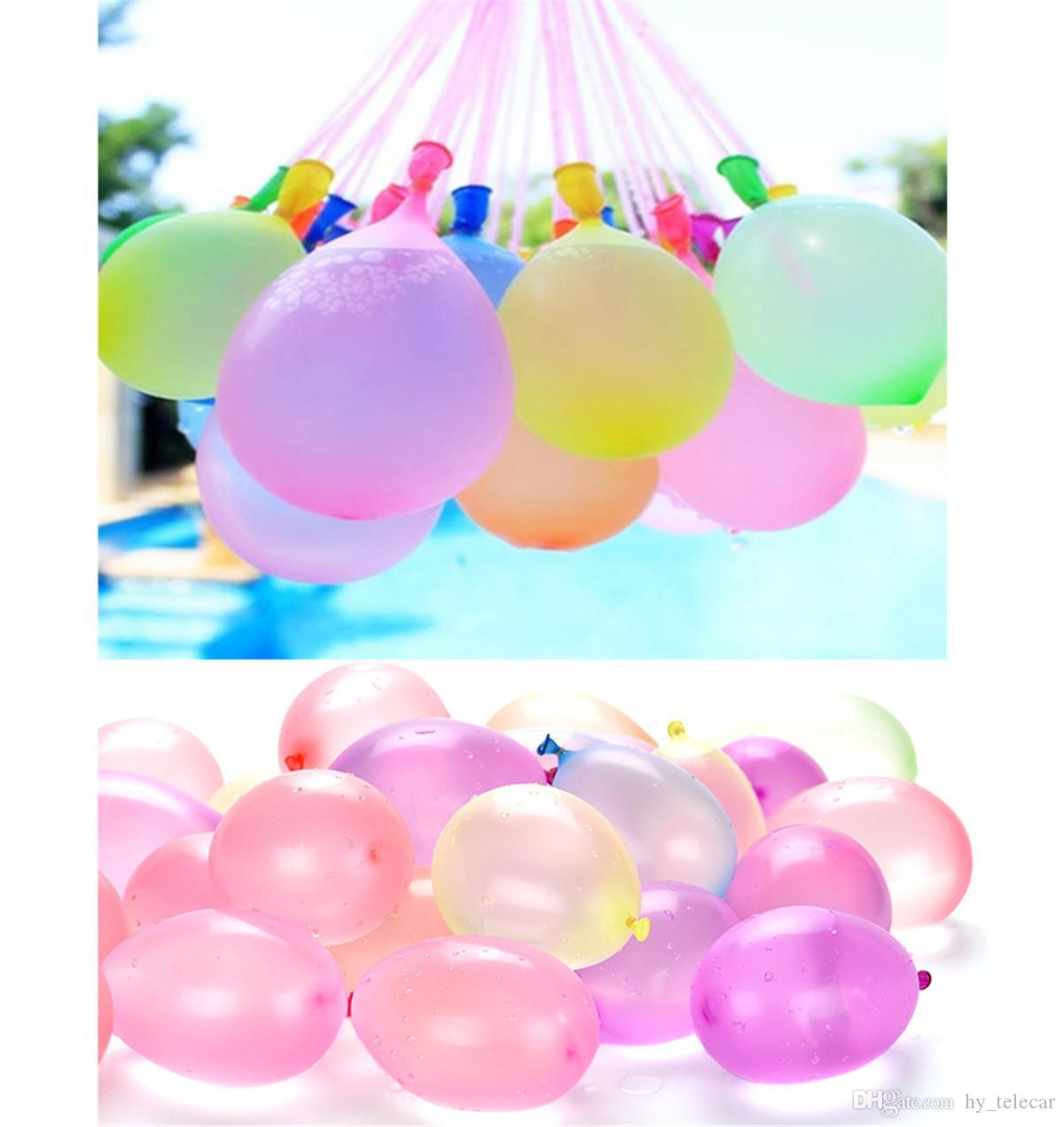 Hot Summer Colorful Water Filled Balloon Children Beach Party Outdoors Play Toys Small Water Bombs Balls Shooting Game For Kid Gift 03