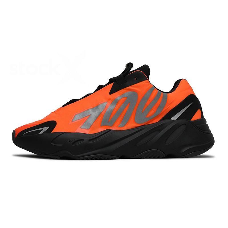 2020 Wave Runner 700 MNVN Fosfor Bone Kanye West 700 Hombres Mujeres Running Zapatillas Carbono Azul Vanta Estático Tephra Inercia Zapato deportivo