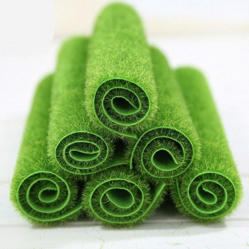 Grasmatte Grün Kunstrasen Turf Teppiche Gefälschte Sod Home Garten Moss Für Privatanwender Boden Hochzeit Dekoration 8txN #