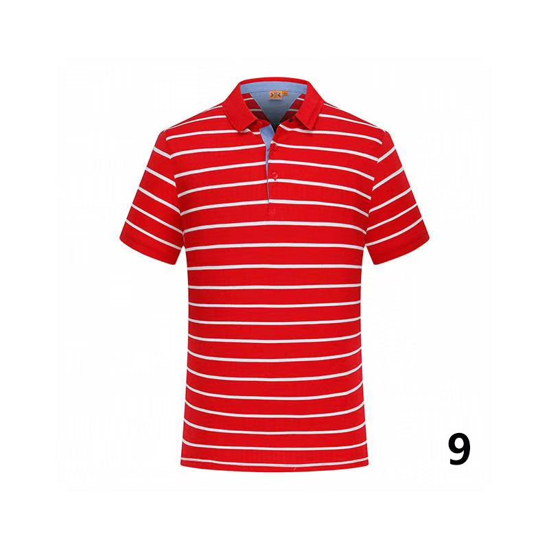 20-30 cotone di estate di colore solido nuovo stile di polo di alta qualità fabbrica polo uomo luxury1 uomini di marca in vendita