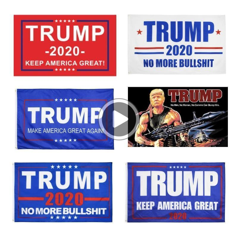 ABD STOK Dekor Anner Trump Bayrağı 3x5 ft Dijital Donald Trump Flags Novi Baskı Trump Amerika Yüksek, tutun * 150cm 90 anners Anging