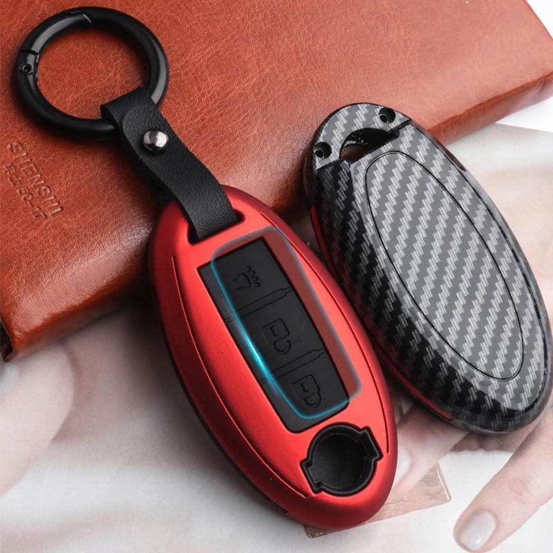accories chiave in fibra di carbonio di alta qualità matura opaca auto di caso per la Nissan 370Z GT Altima R Maxima Murano Rogue Sentra interni
