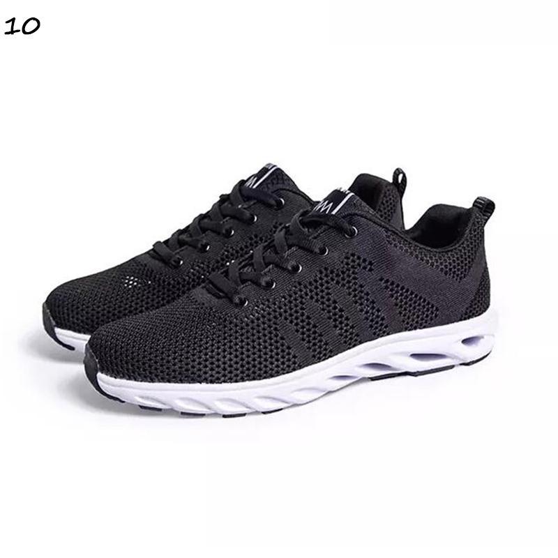 com meias livres preto novo das mulheres brancas dos homens do marrom sapatos casuais mens treinadores desportivos ao ar livre tênis respirável sapatos de corrida em execução