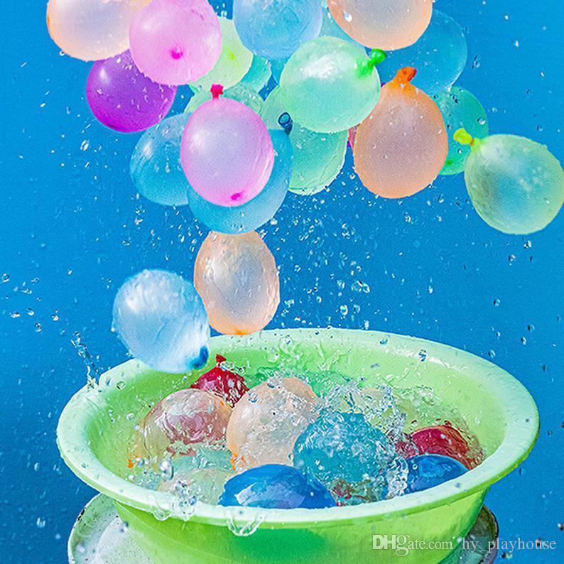 Hot Summer coloré rempli d'eau Party Ballon enfants Plage Jeu extérieur Jouet petits eau Bombe Balles de tir Jeu pour Kid cadeau 05