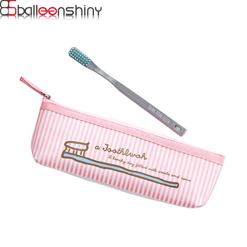 Holder BalleenShiny Nuovo Tipo NH8220 Spazzolino Storage Bag Viaggi dentifricio spazzolino da denti Organizzatore Hollow Bottom-Out Design